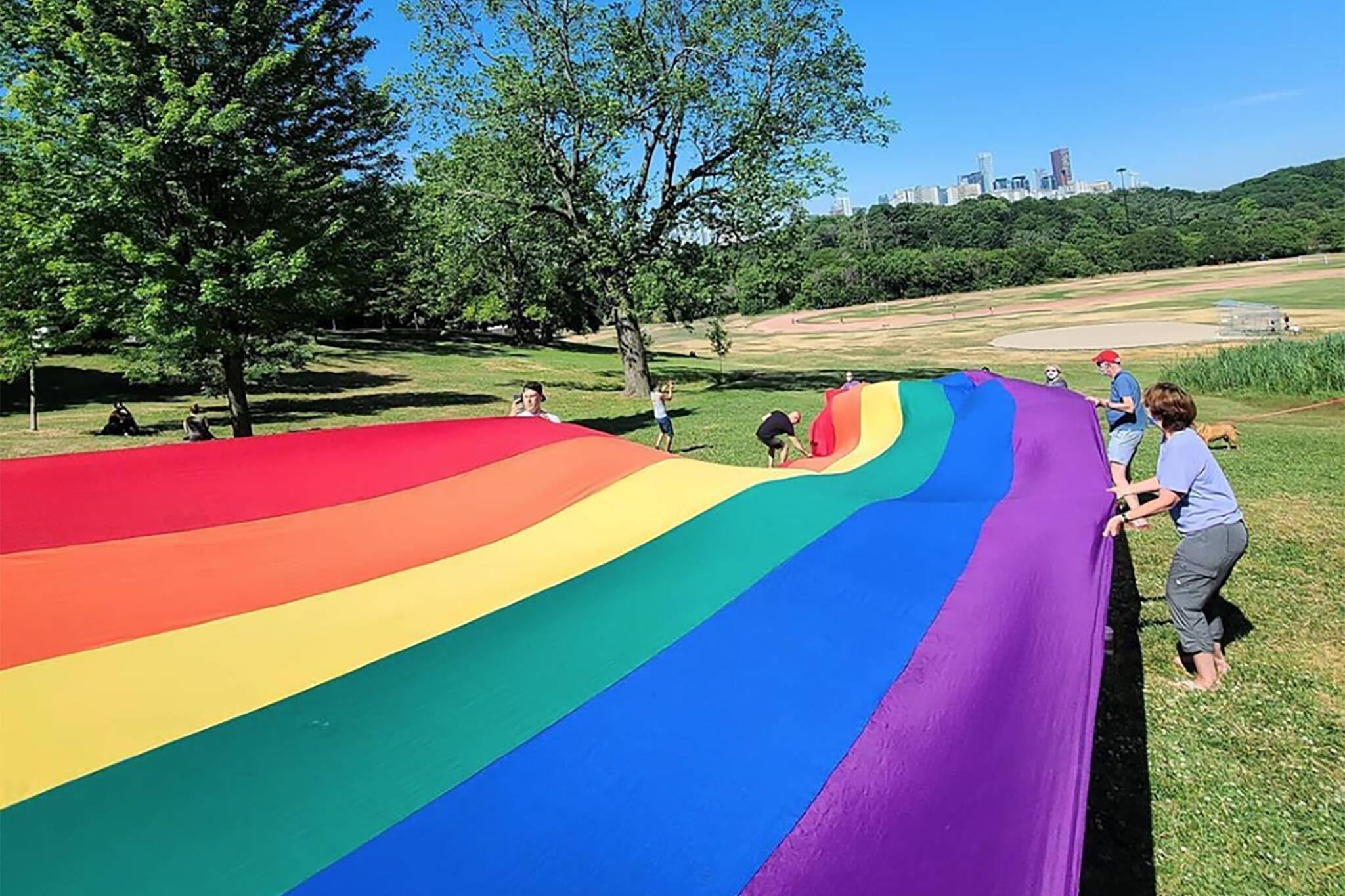 pride flag 2020