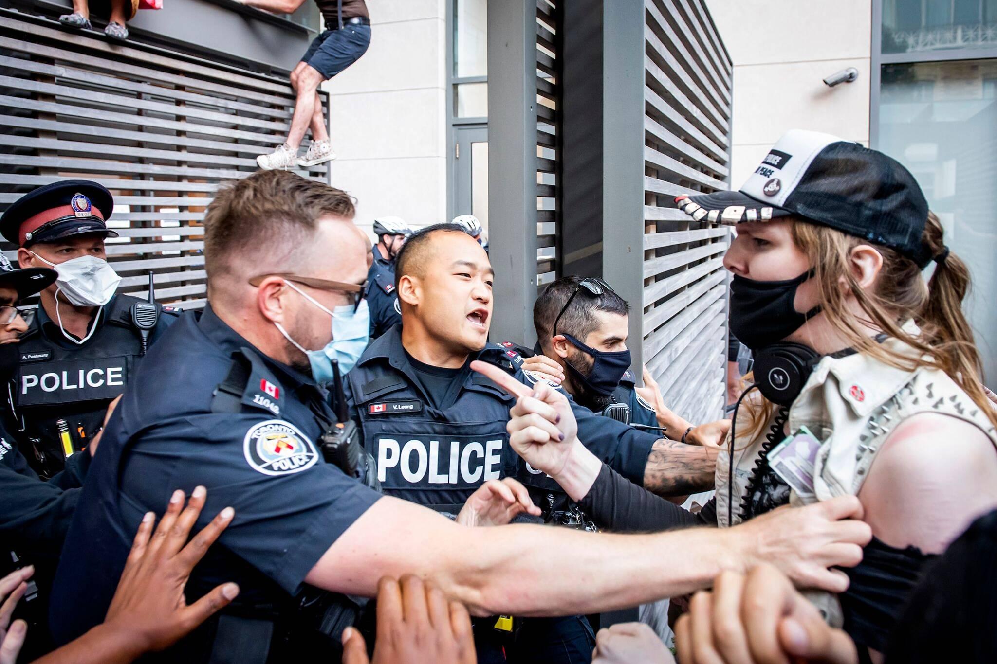 toronto protest bill 184
