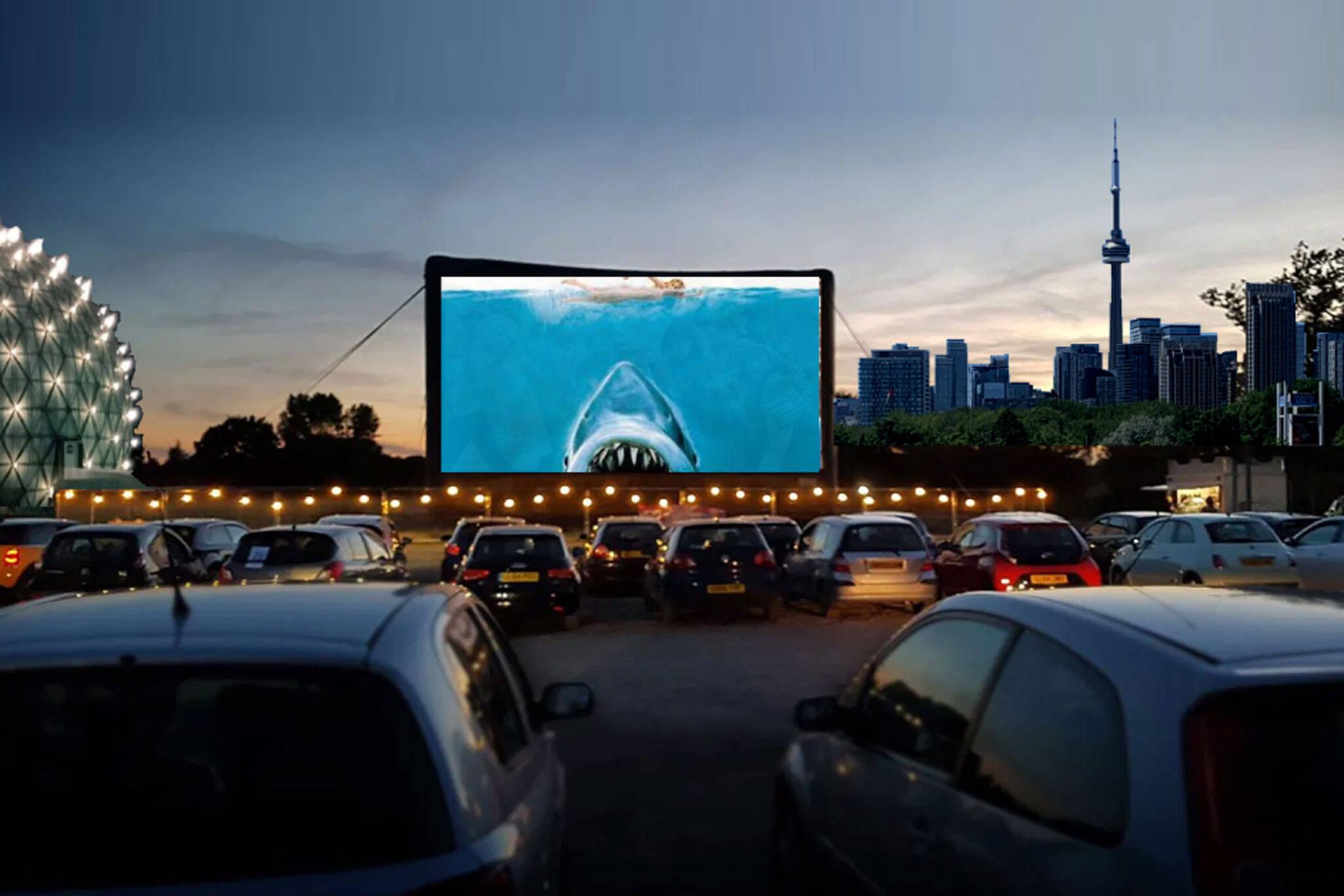 drive in movie theatre toronto