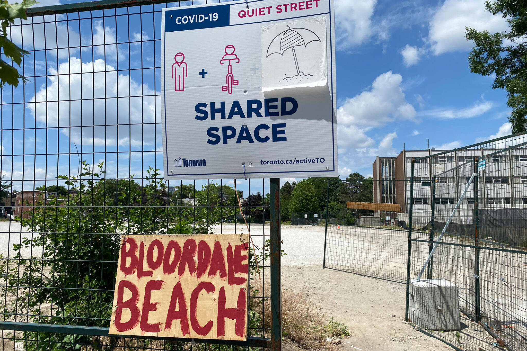 bloordale beach toronto