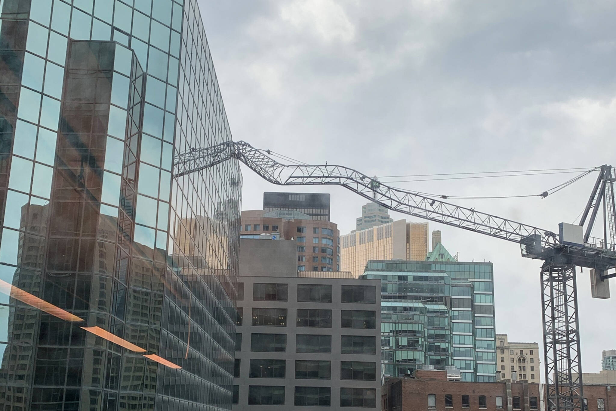crane collapse toronto