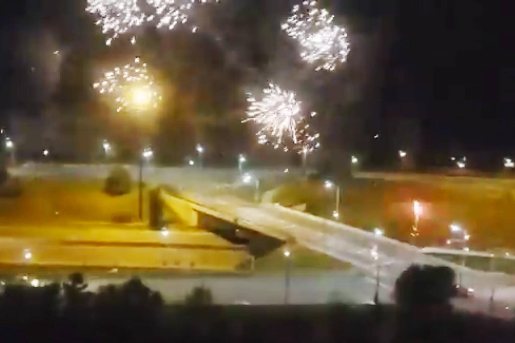 fireworks parkdale