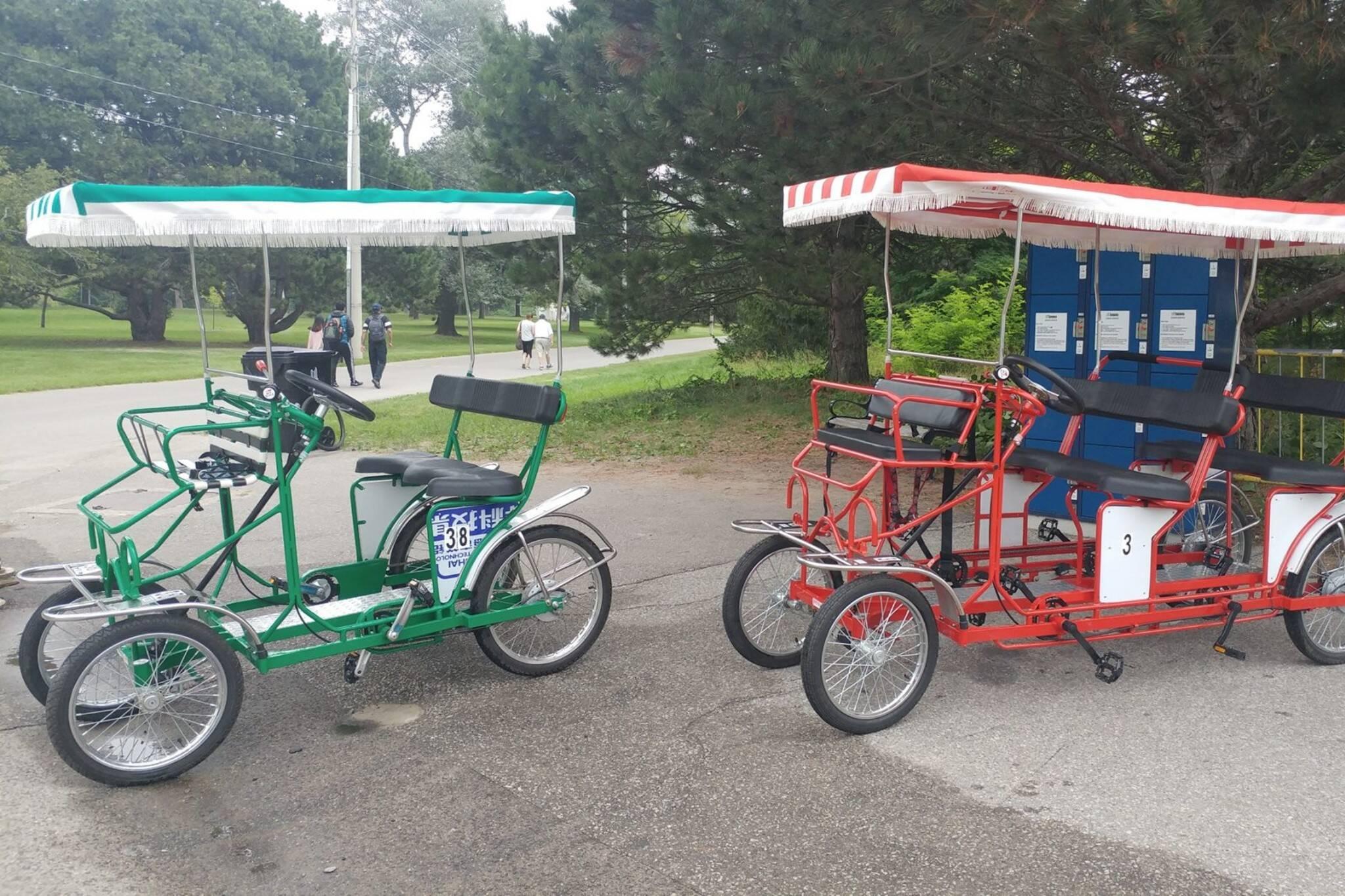 toronto island bicycle rental