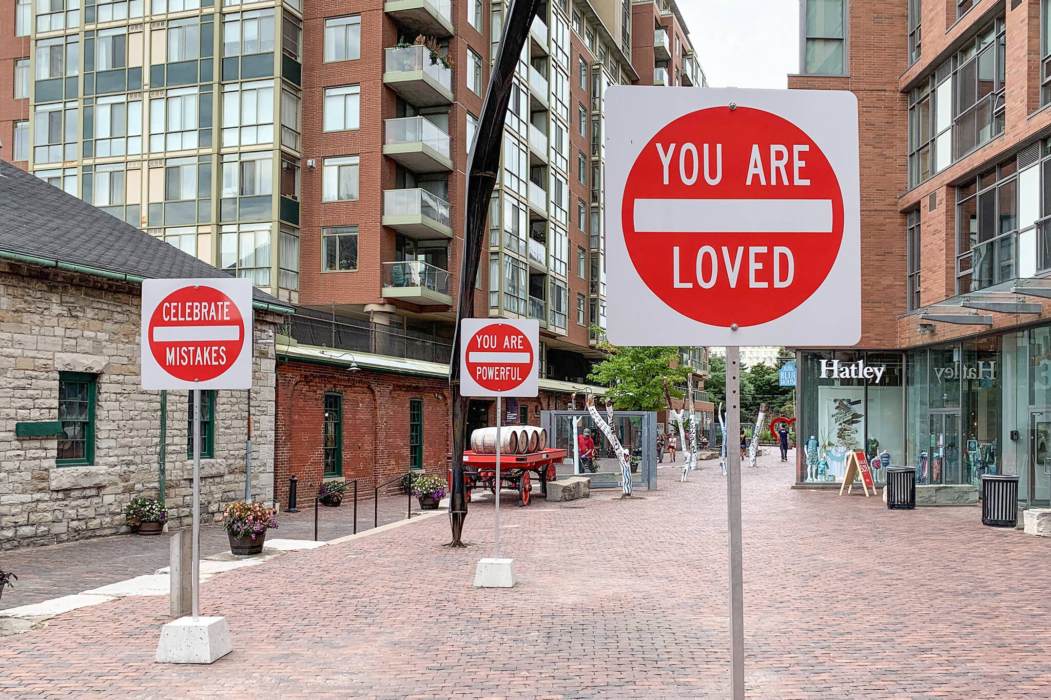 distillery district signs