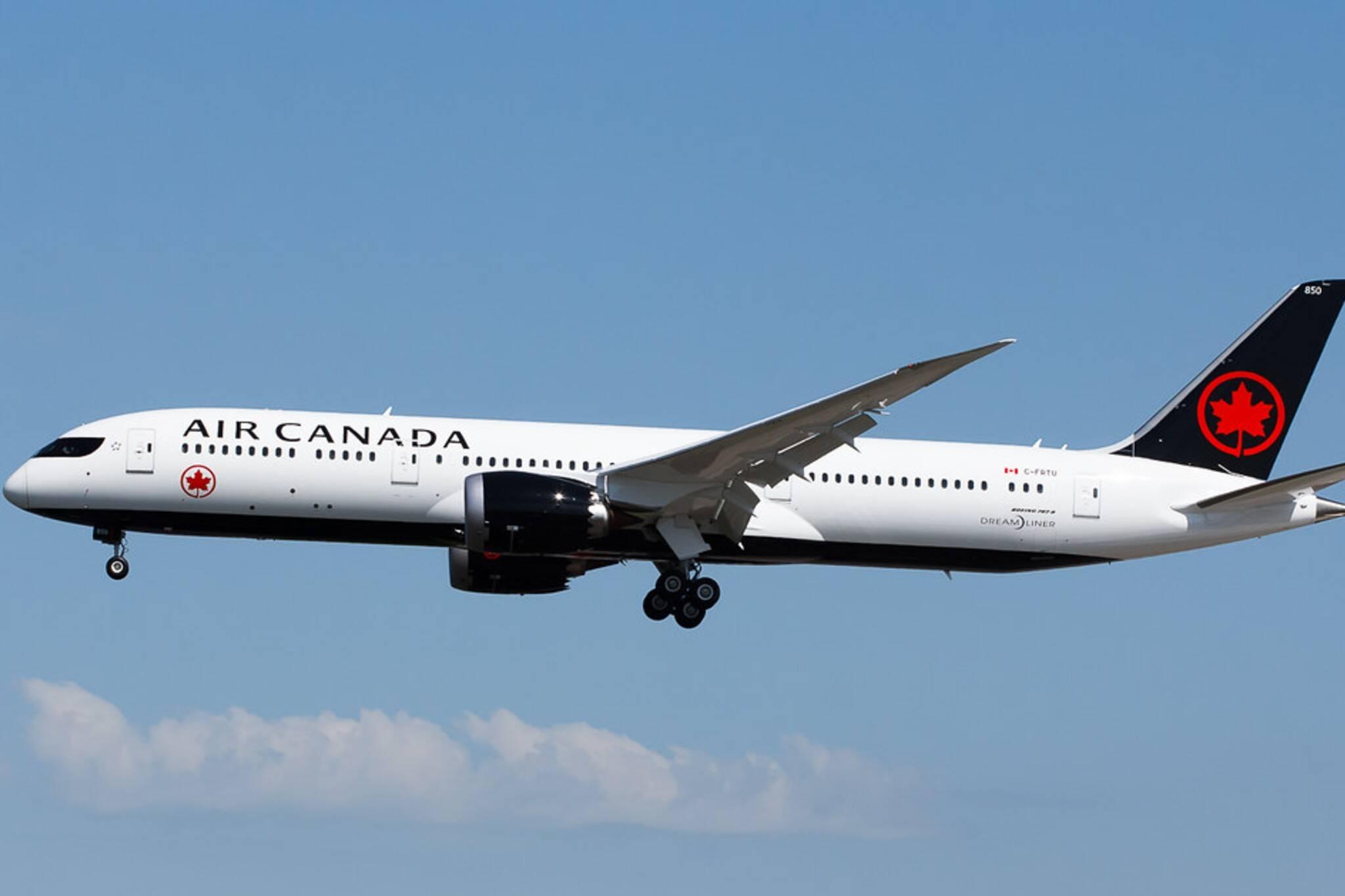 covid flights canada