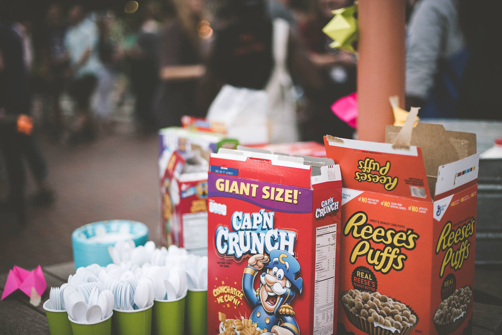 the cereal box club