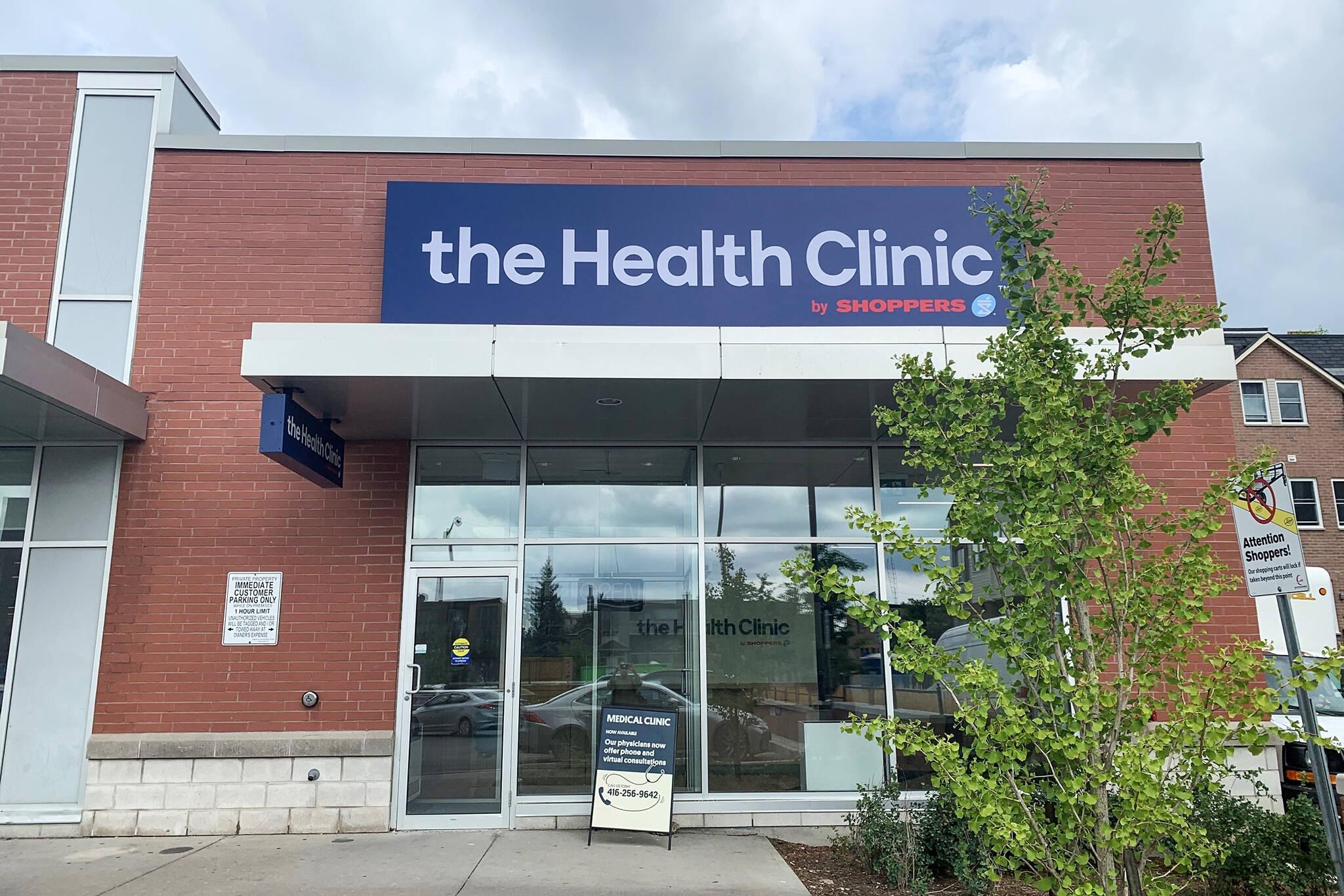 shoppers drug mart clinic