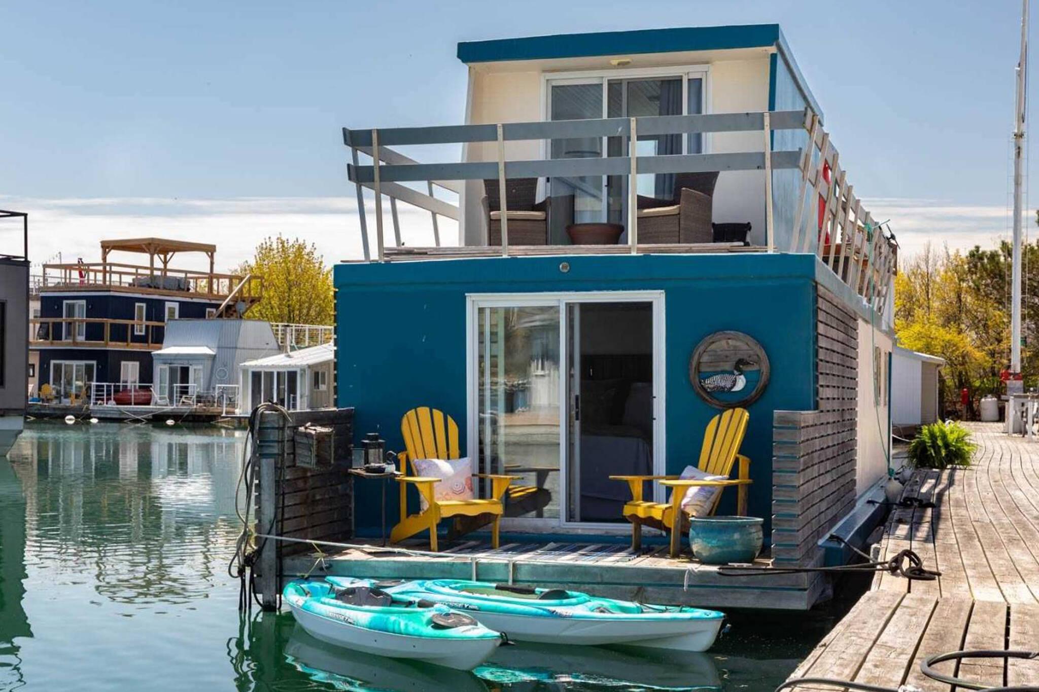 houseboat toronto