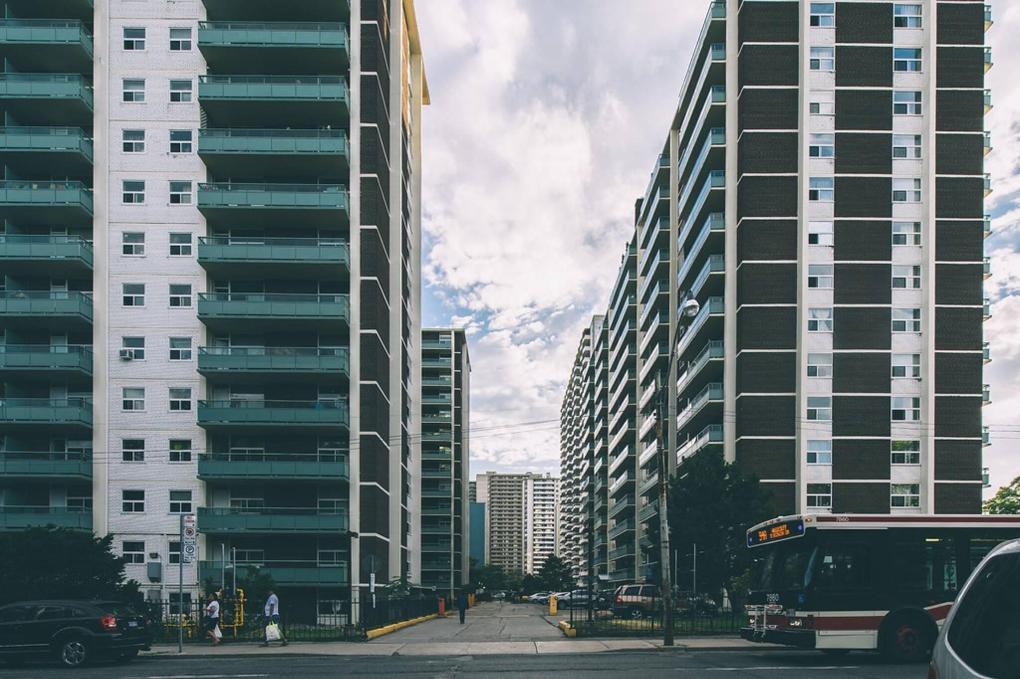 average rent in toronto
