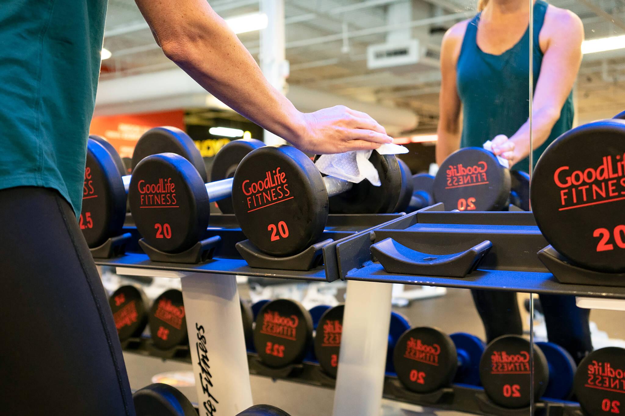 goodlife fitness covid