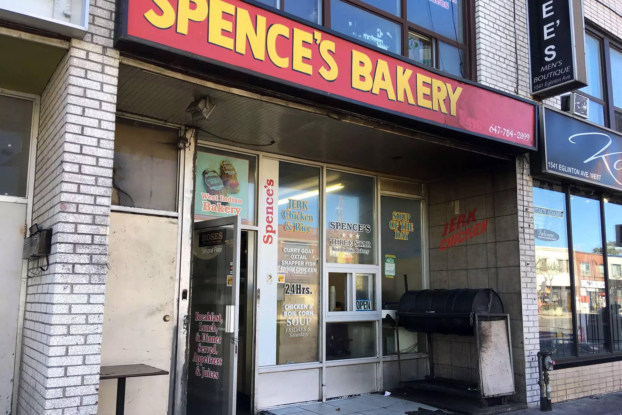 spences bakery shooting