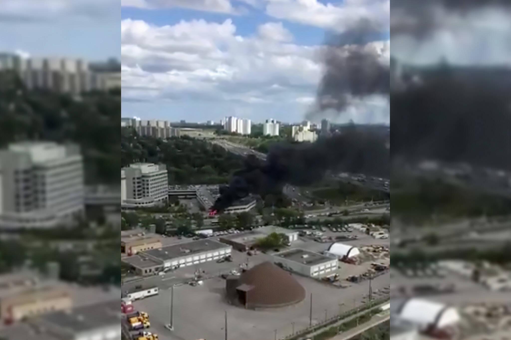 toronto fire hospital