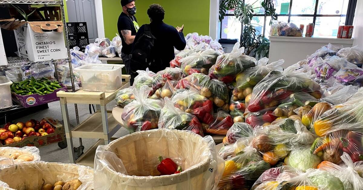 Food banks in Toronto see surge in demand from families with children