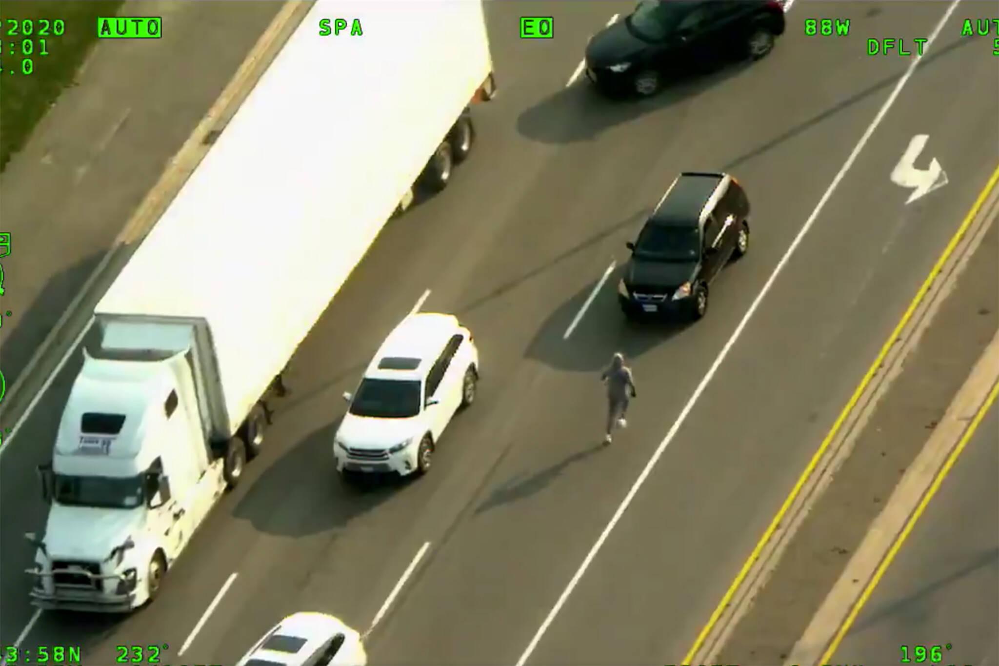 brampton car chase