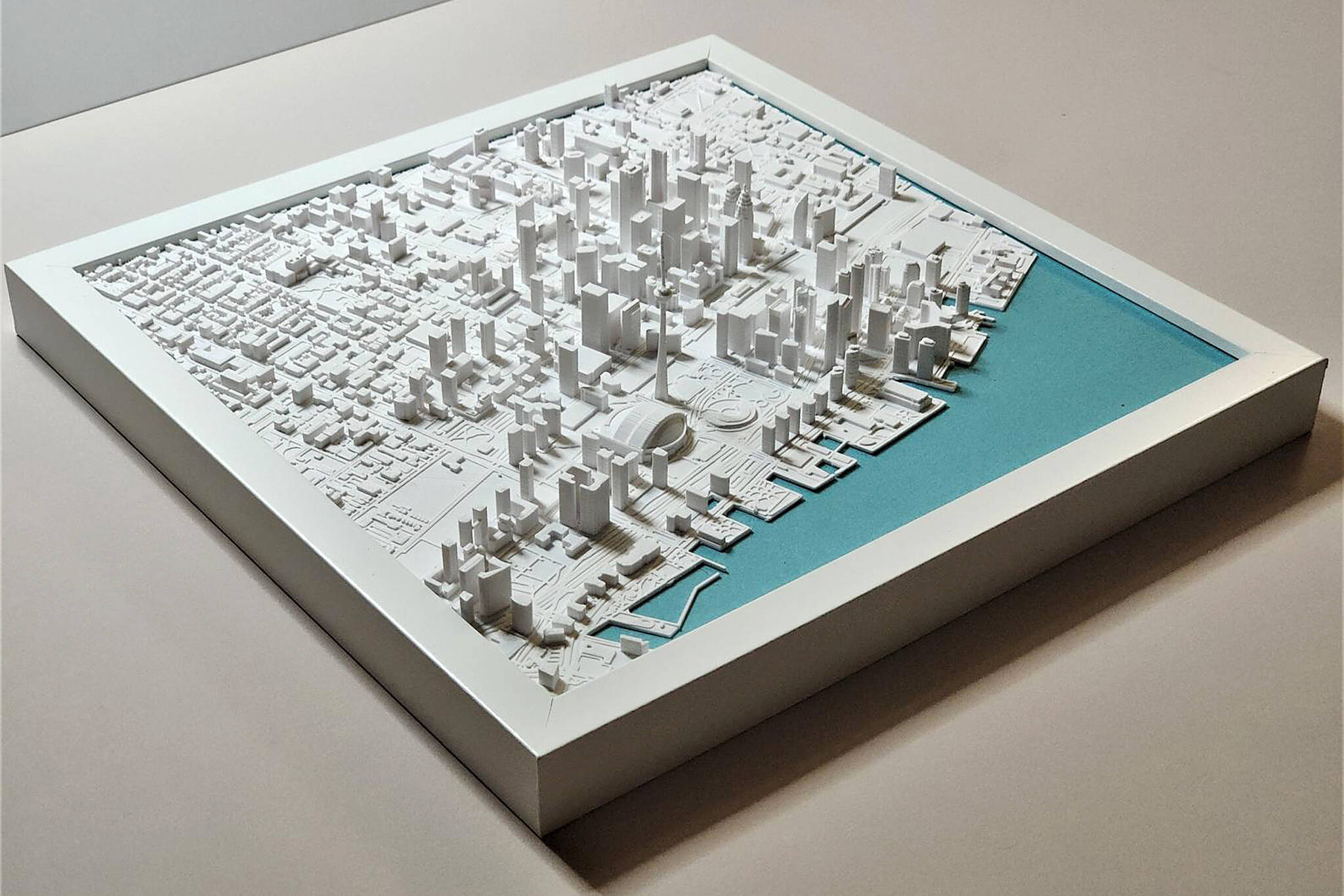 3d printed downtown toronto