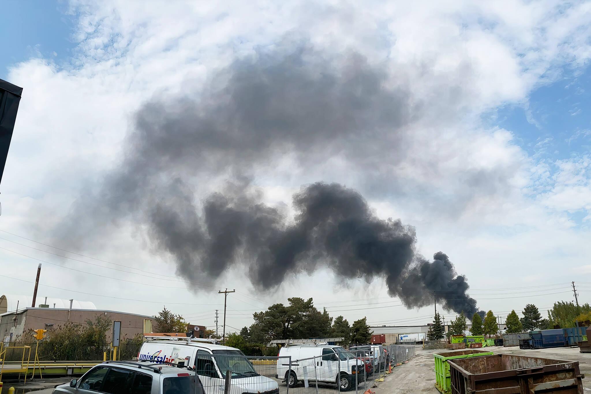 fire on weston road