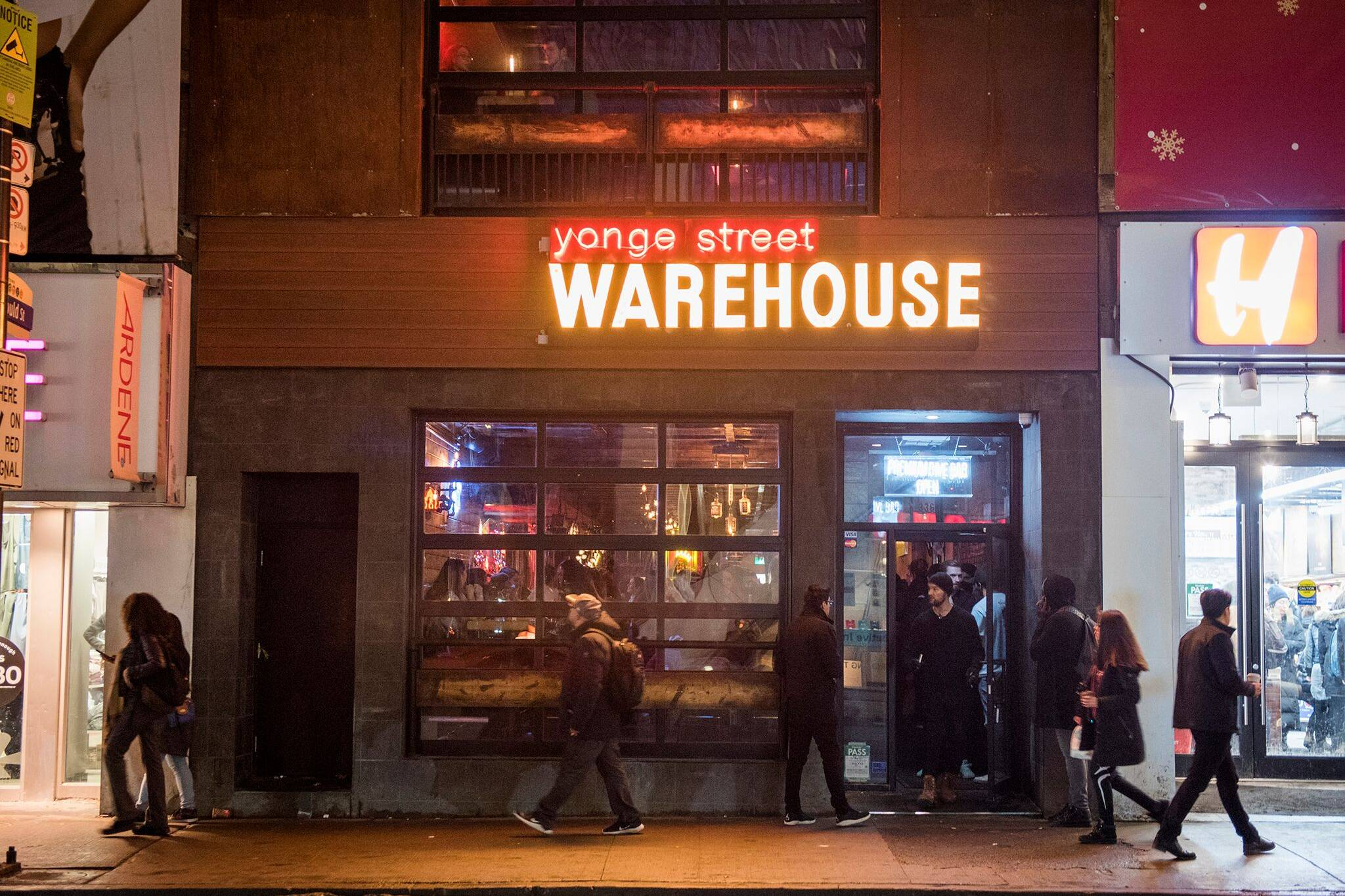 yonge street warehouse covid