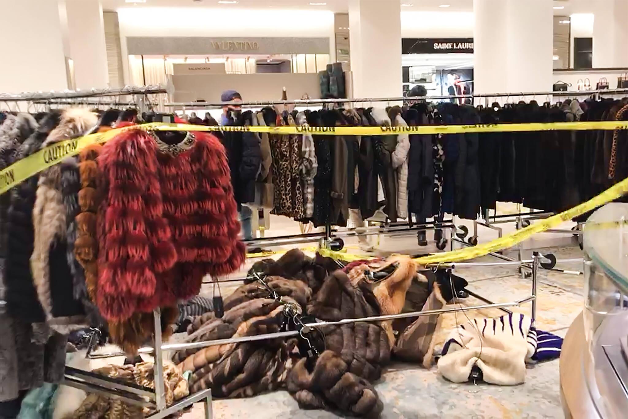 toronto fur protest