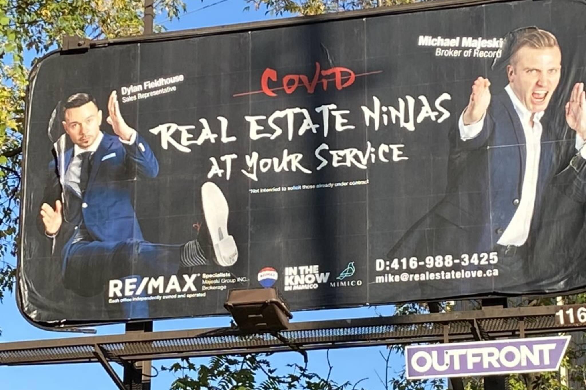 racist billboard toronto