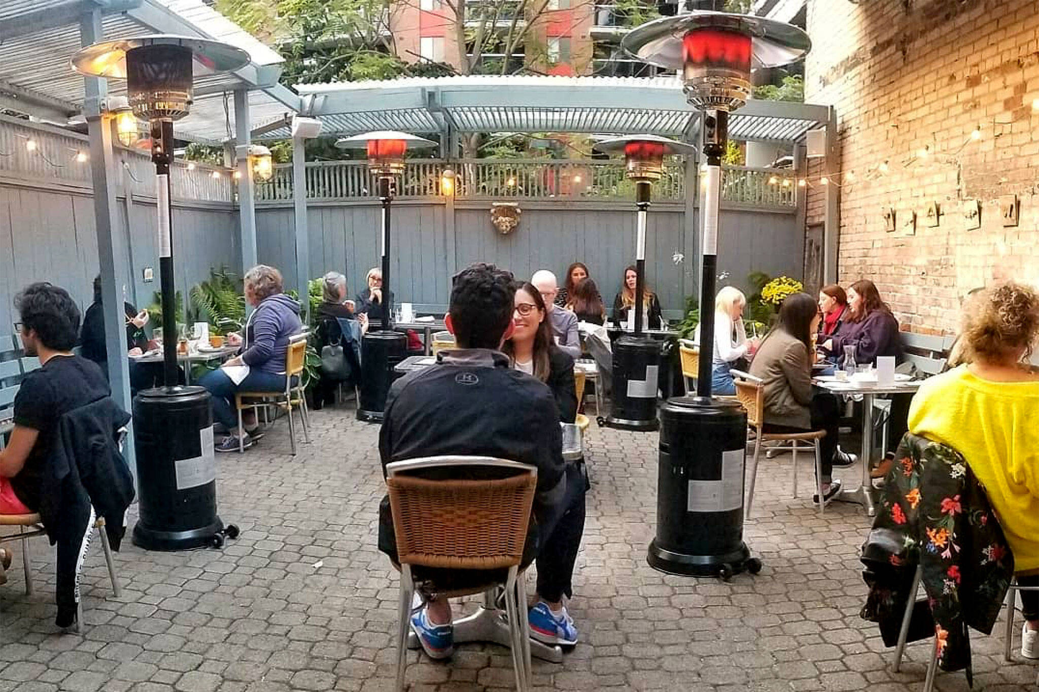 heated patios toronto