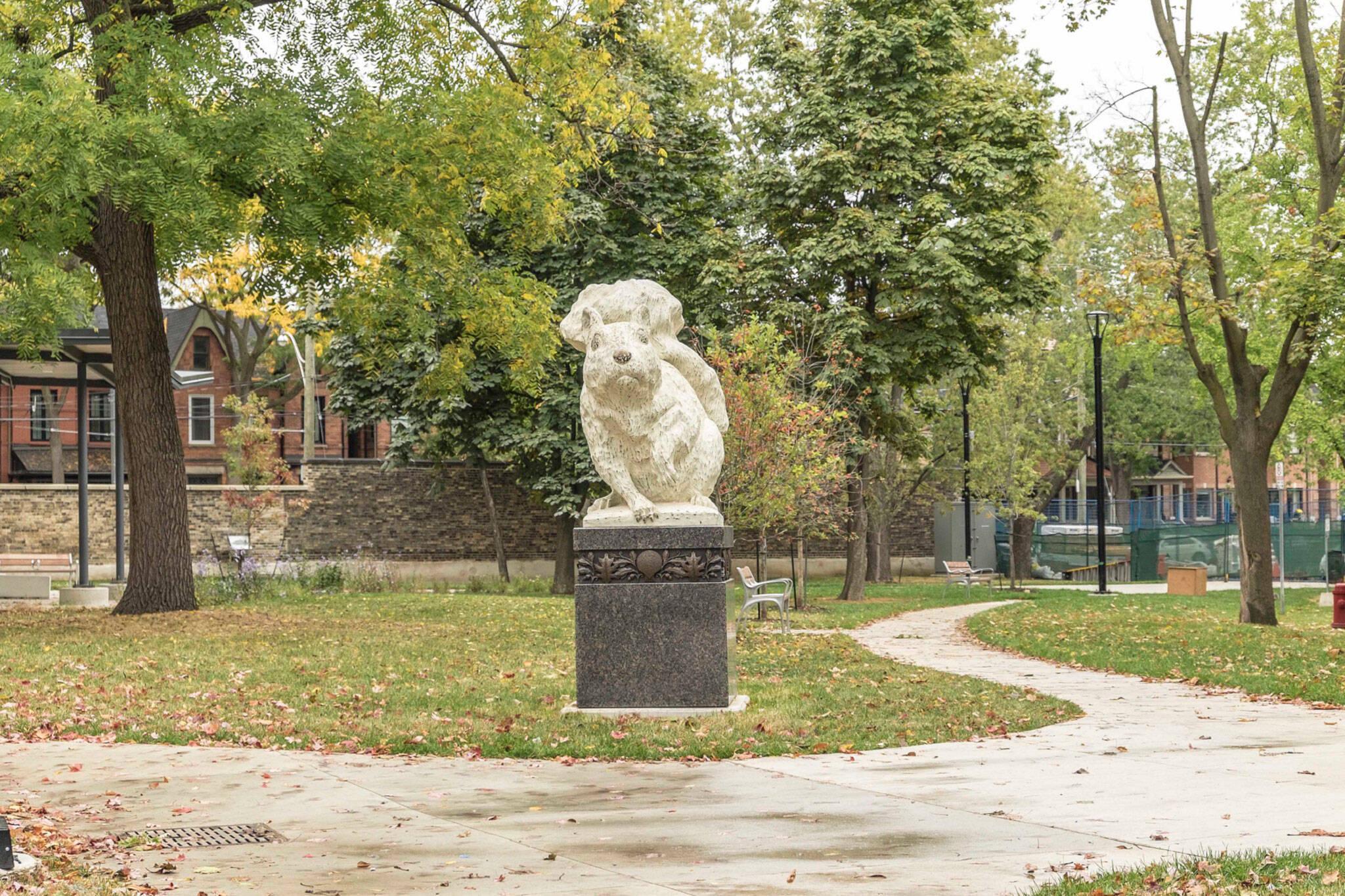 squirrel statues toronto