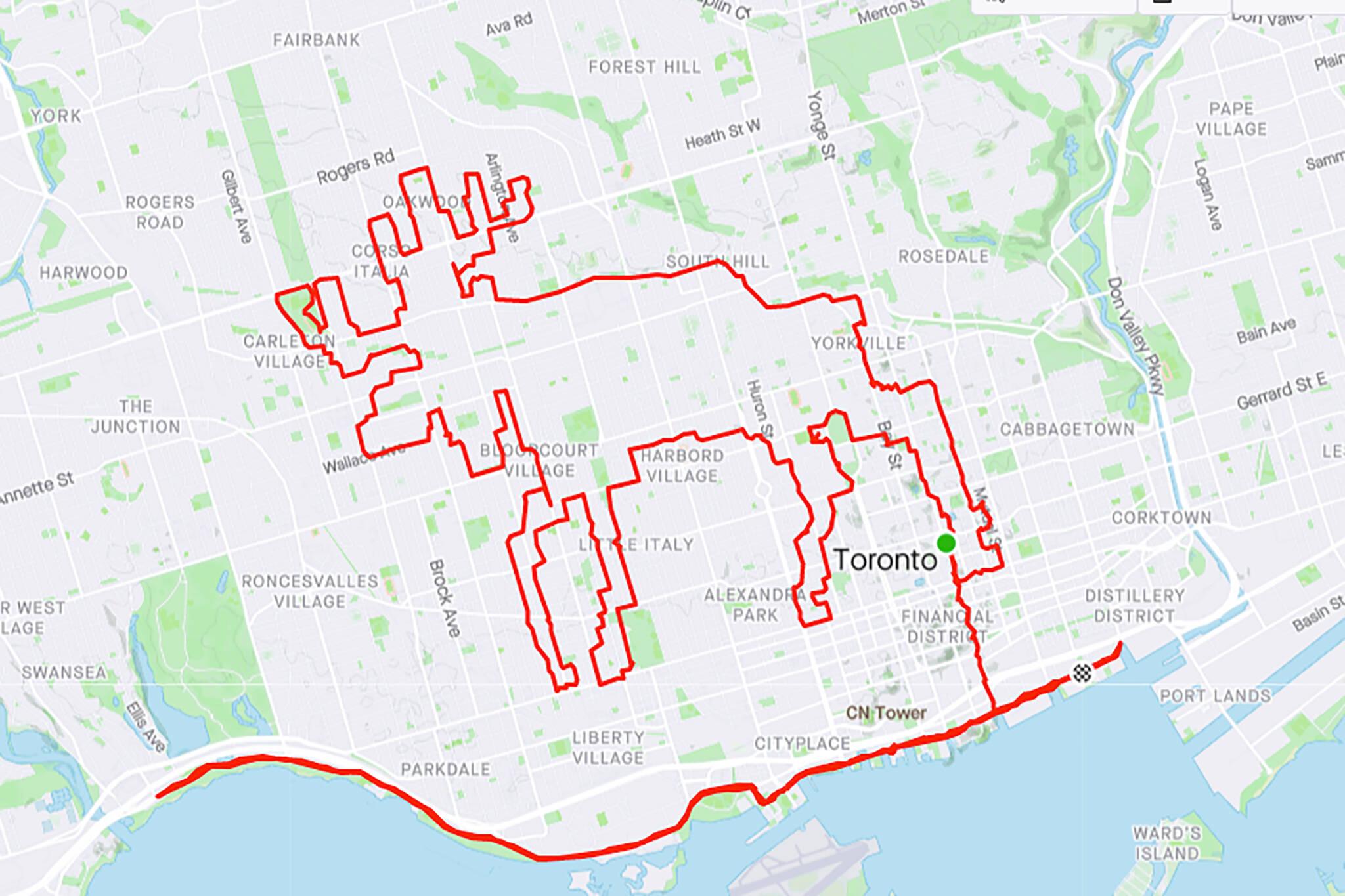 toronto moose map