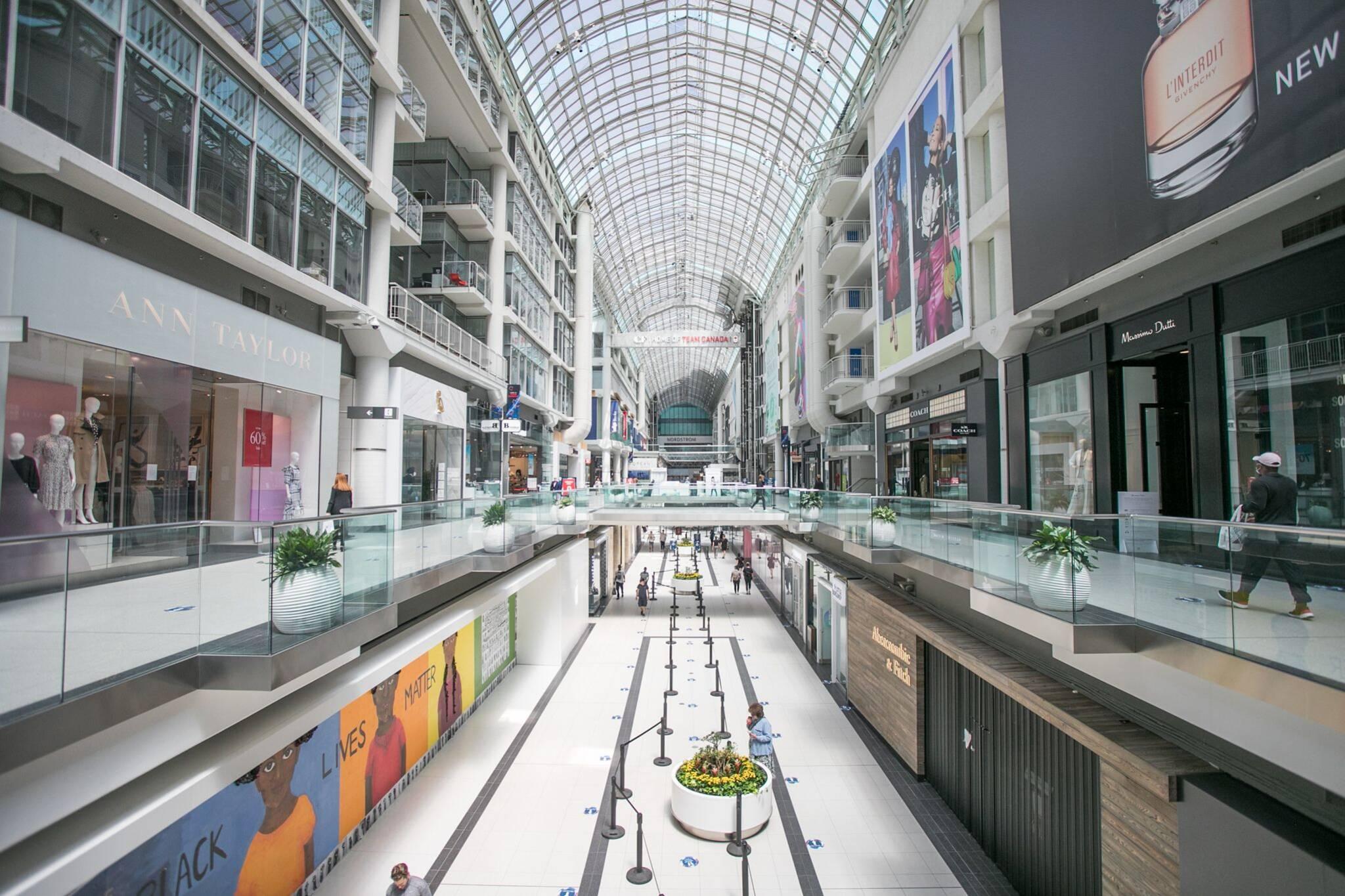 cadillac fairview malls