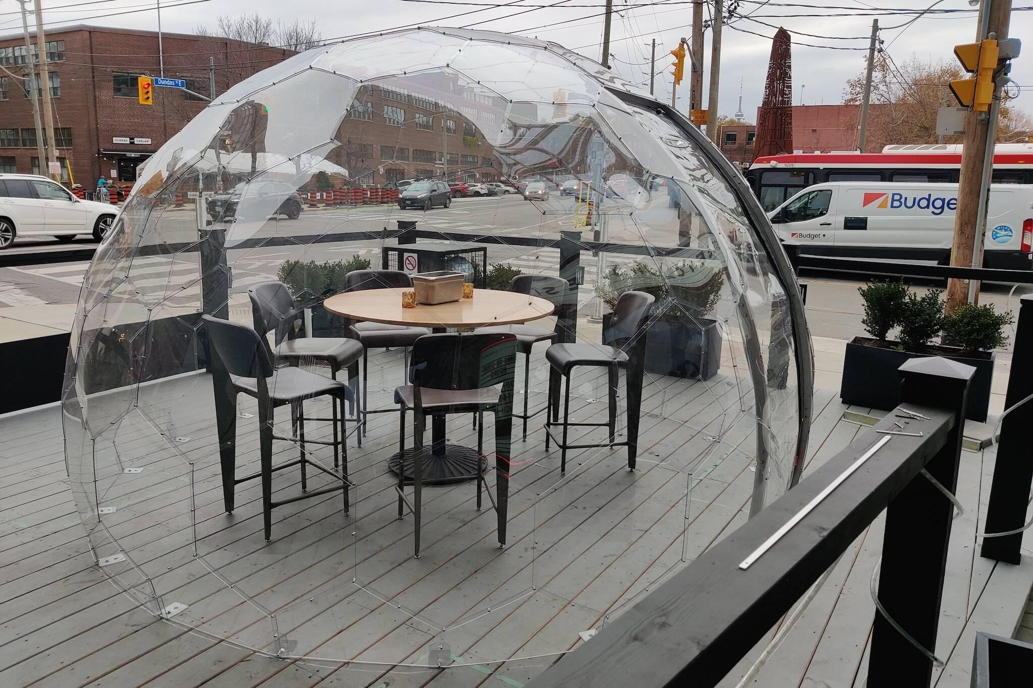 dome restaurant toronto