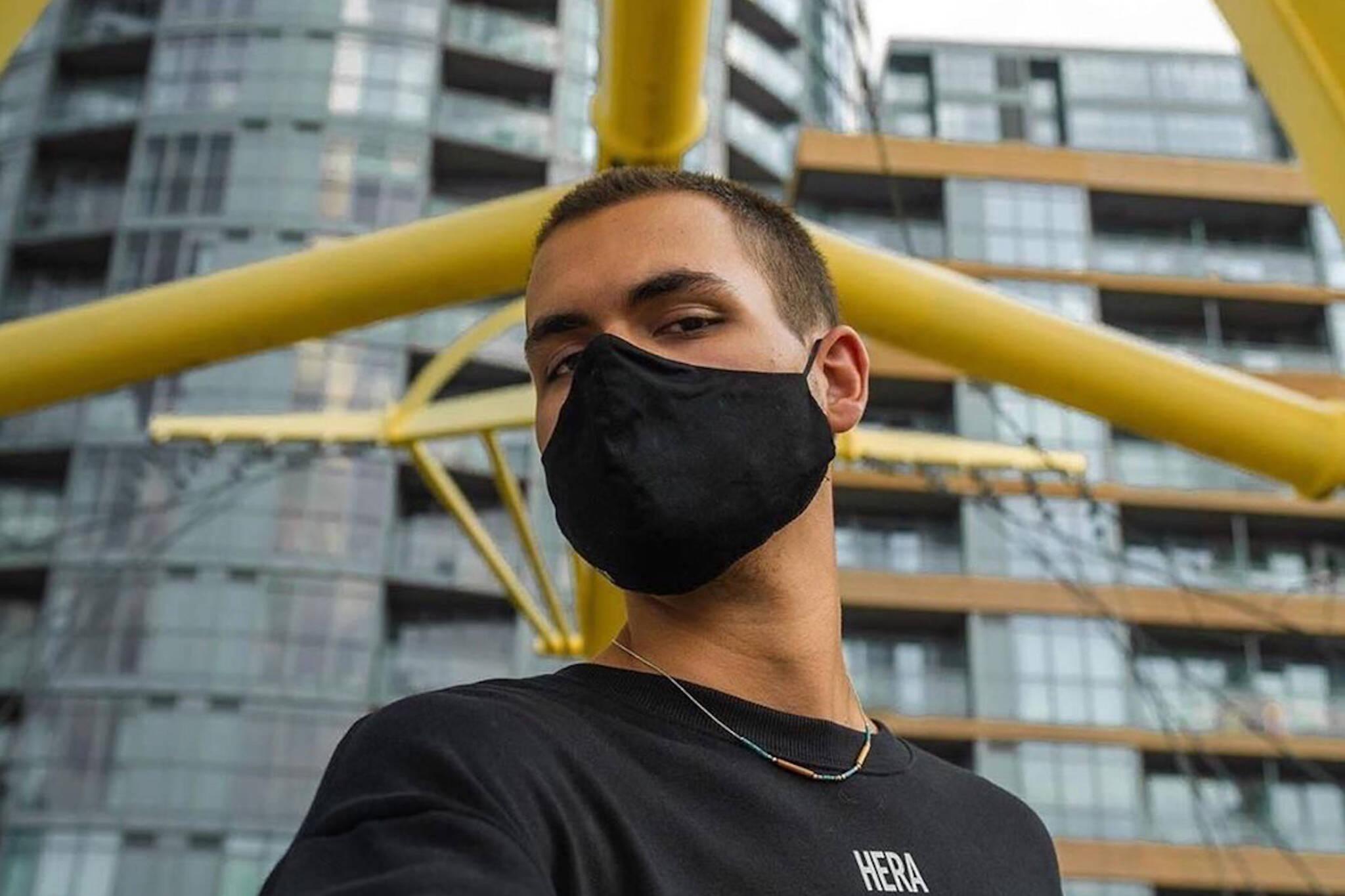 custom face masks toronto