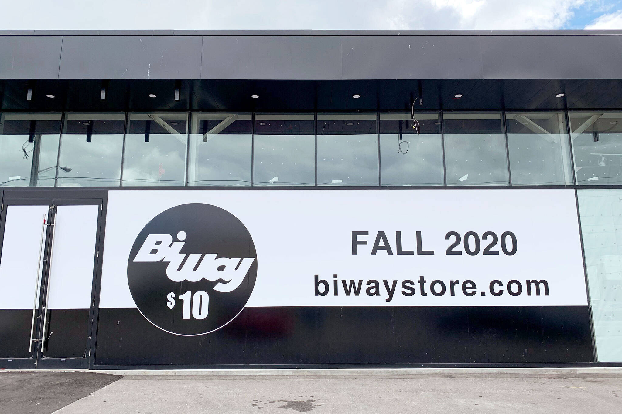 biway store reopening