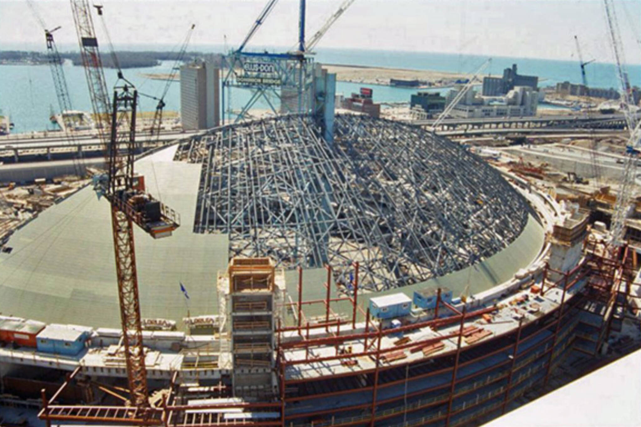 skydome construction toronto