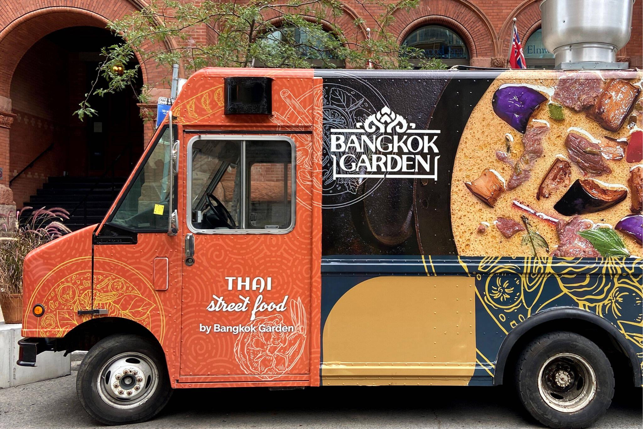 bangkok garden food truck