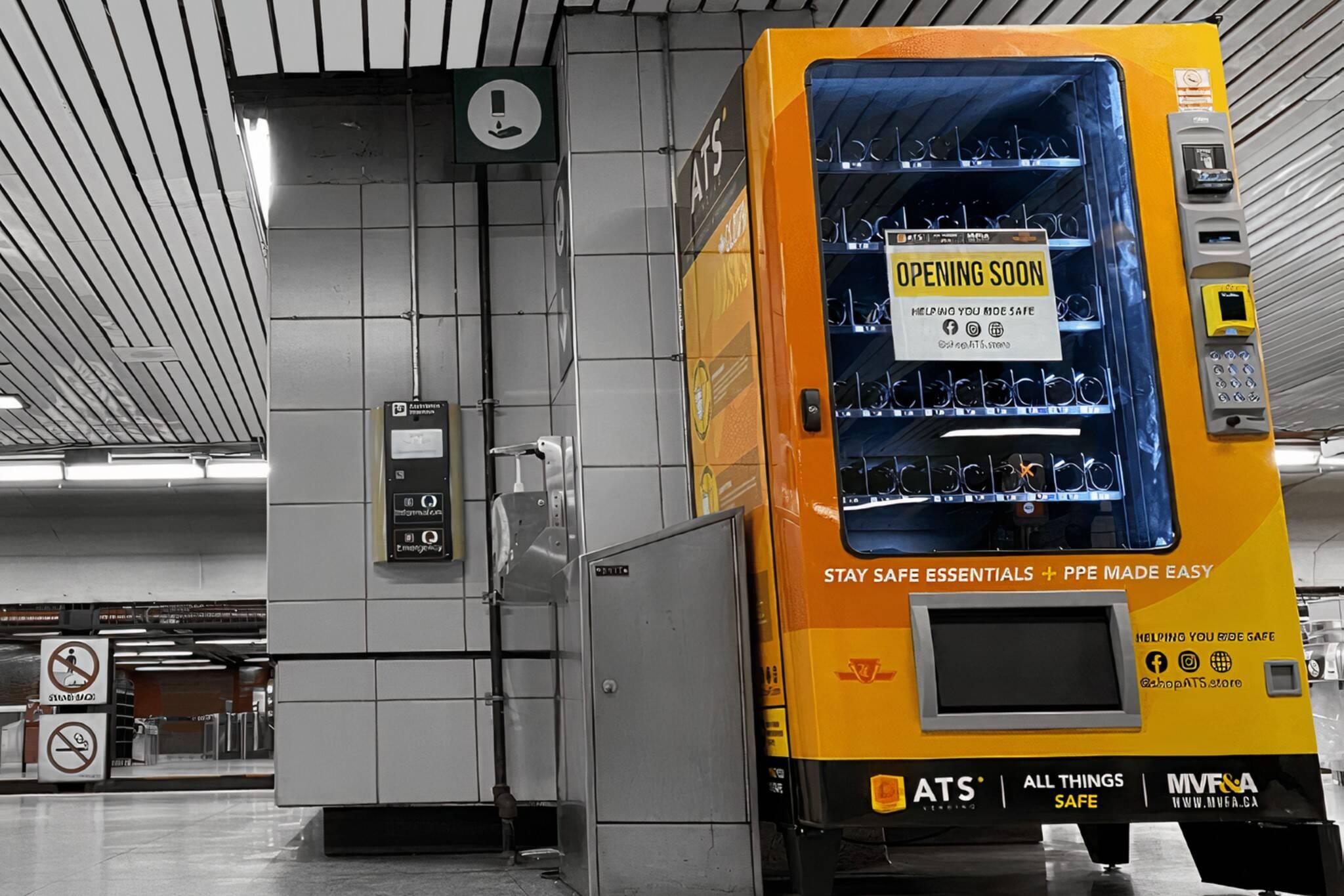 ttc vending machine
