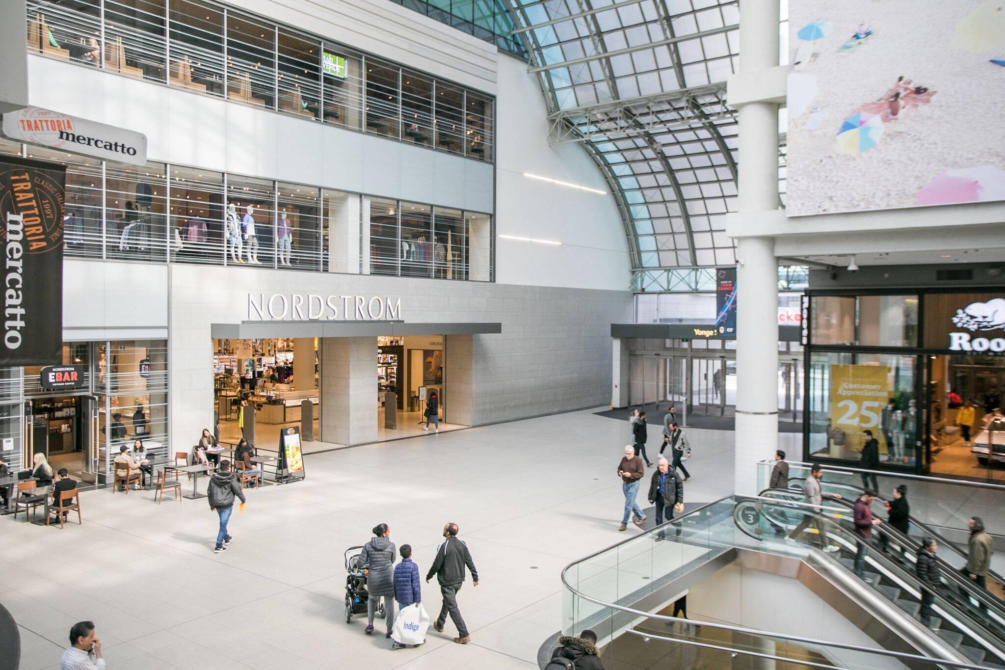 malls closed toronto