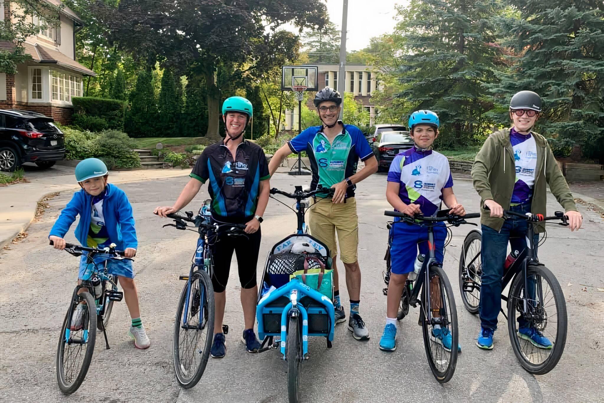 toronto family bike