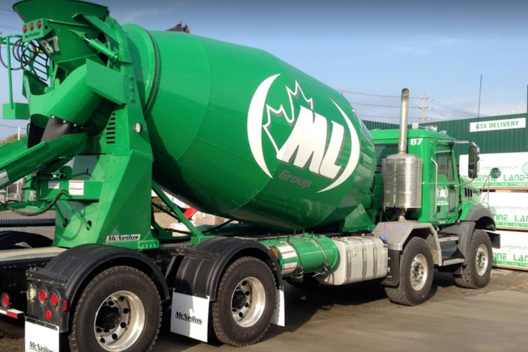 ml ready mix concrete