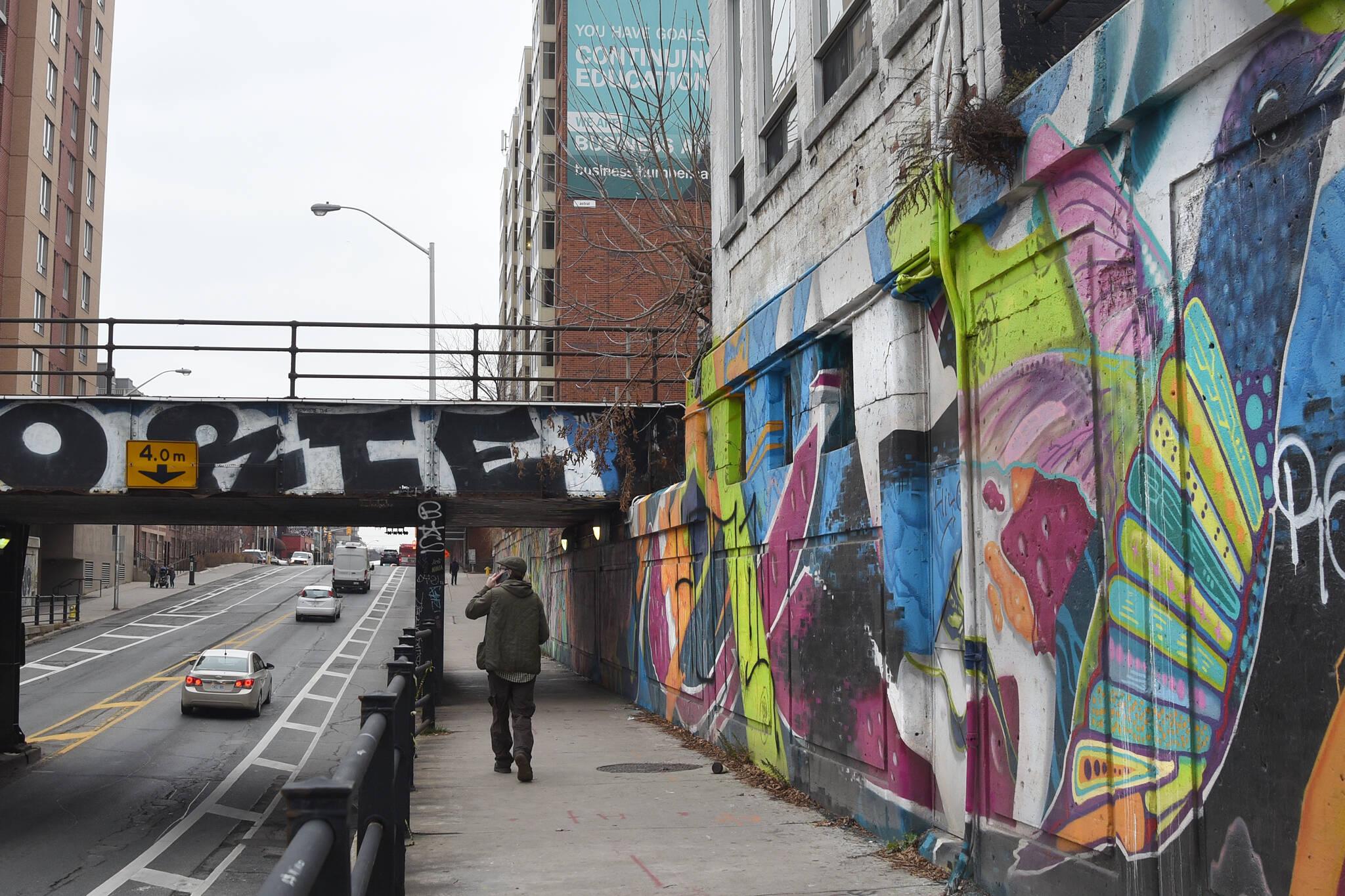 bloor bridge demolition