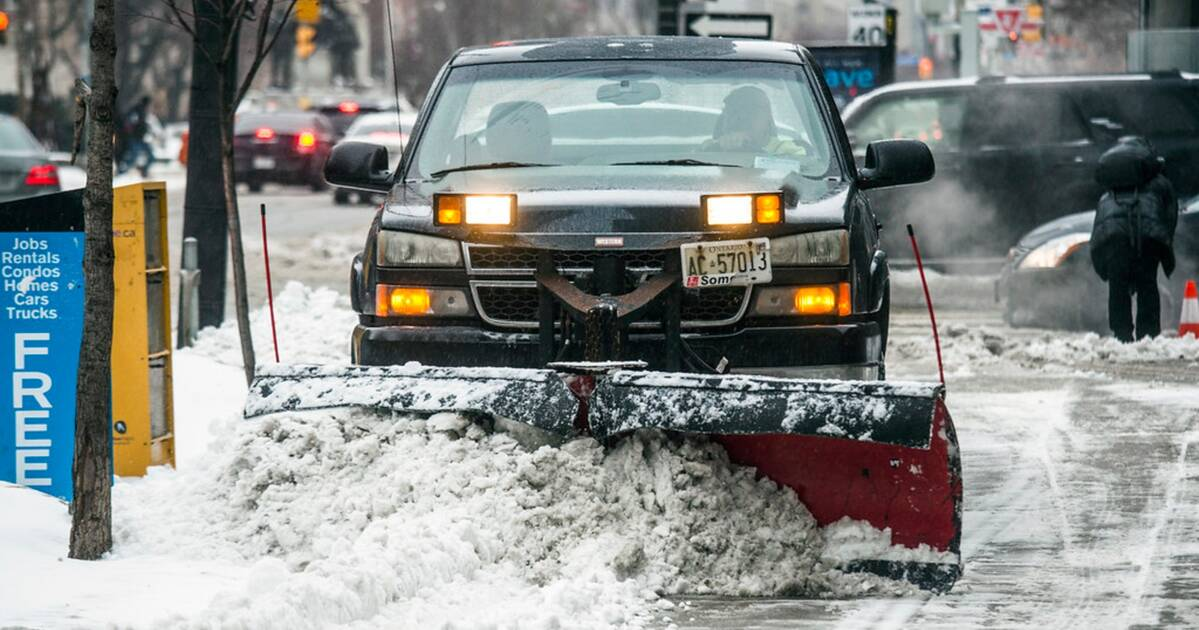 Toronto agrees to clear snow from more sidewalks this winter
