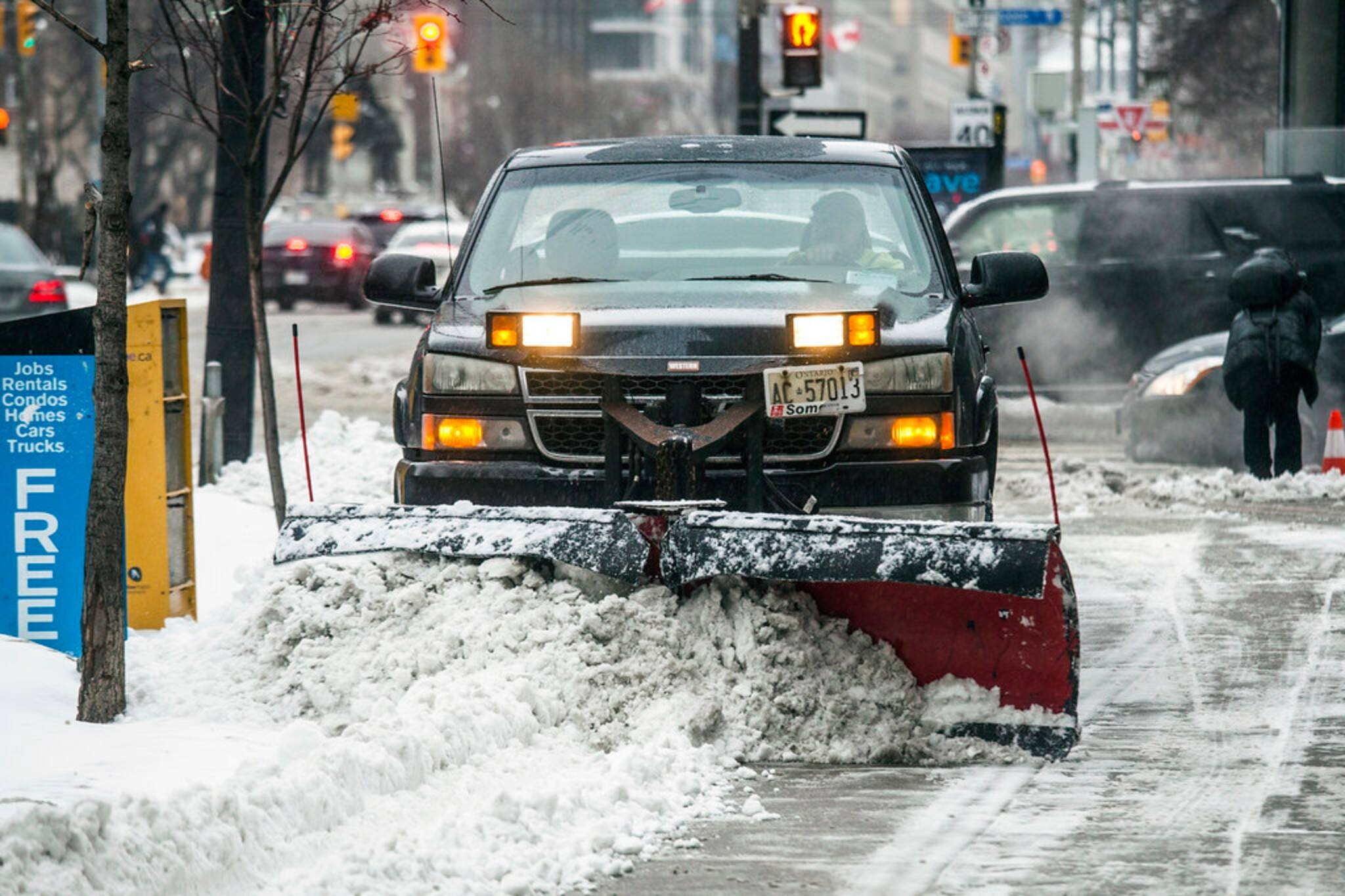 city of toronto snow removal