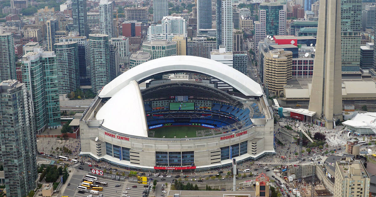 Rogers wants to demolish the SkyDome and build a new home for the Toronto Blue Jays