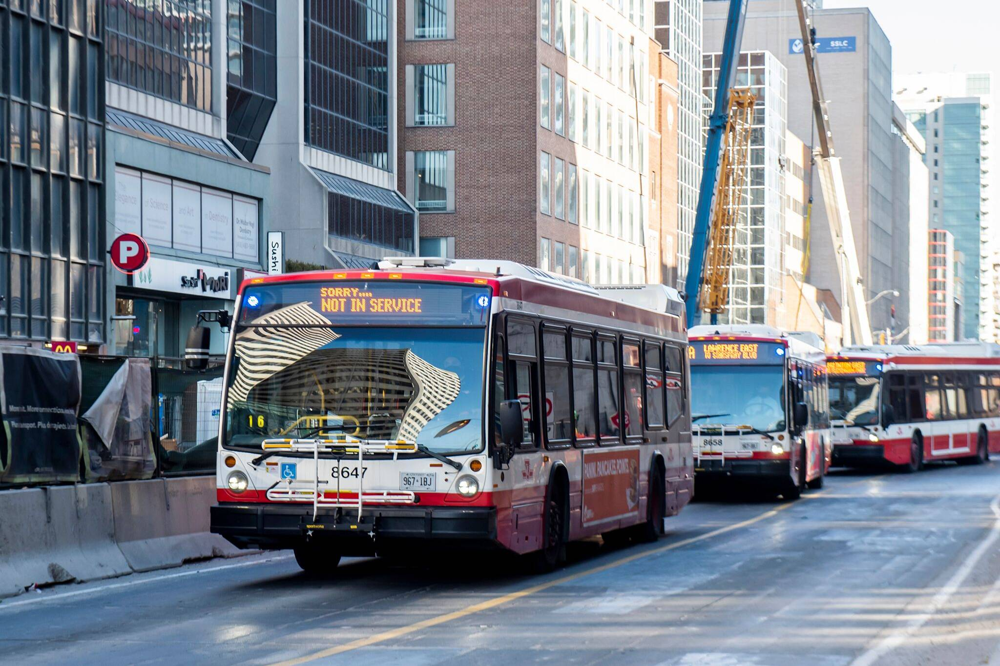 ttc bus platooning