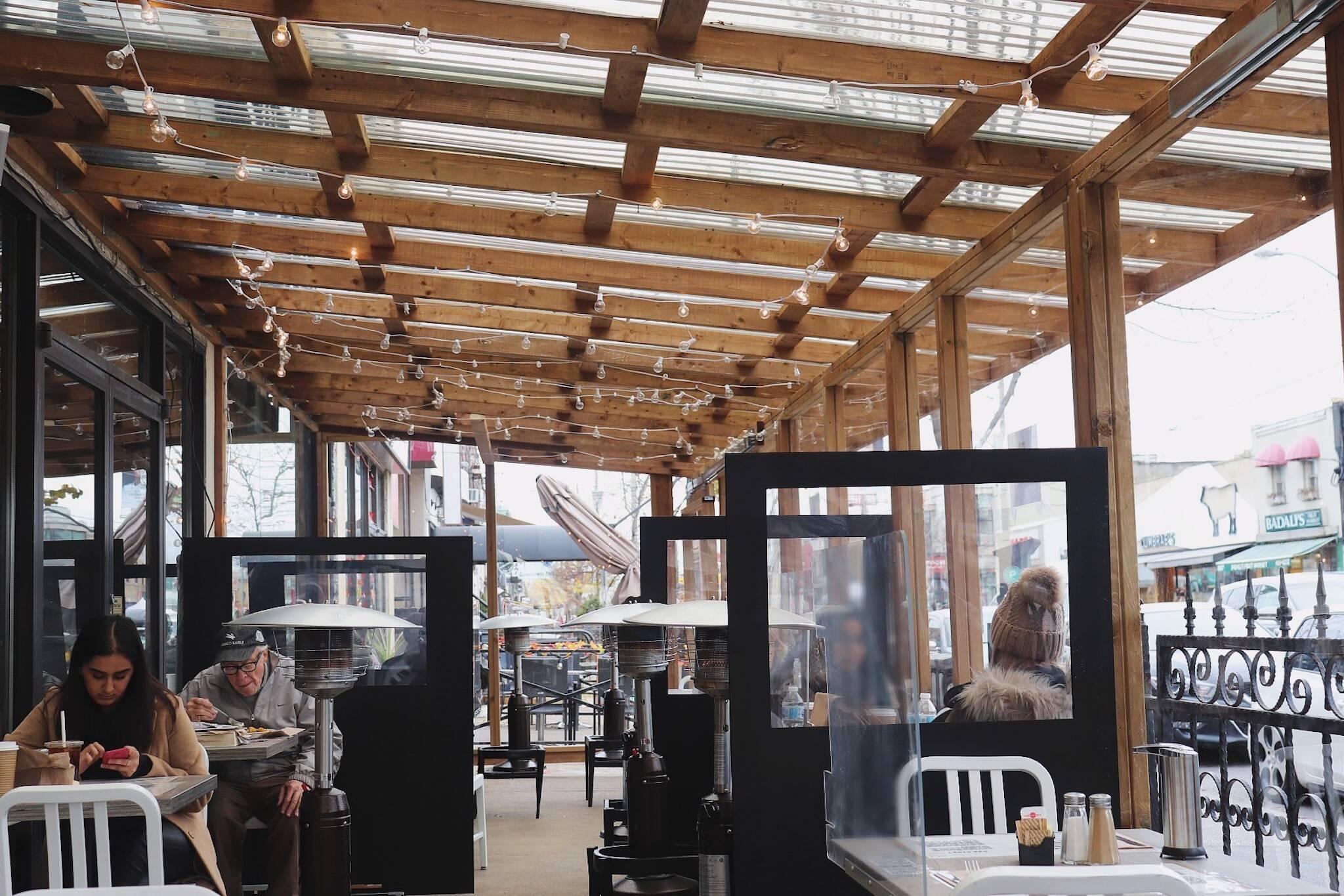 toronto restaurants open