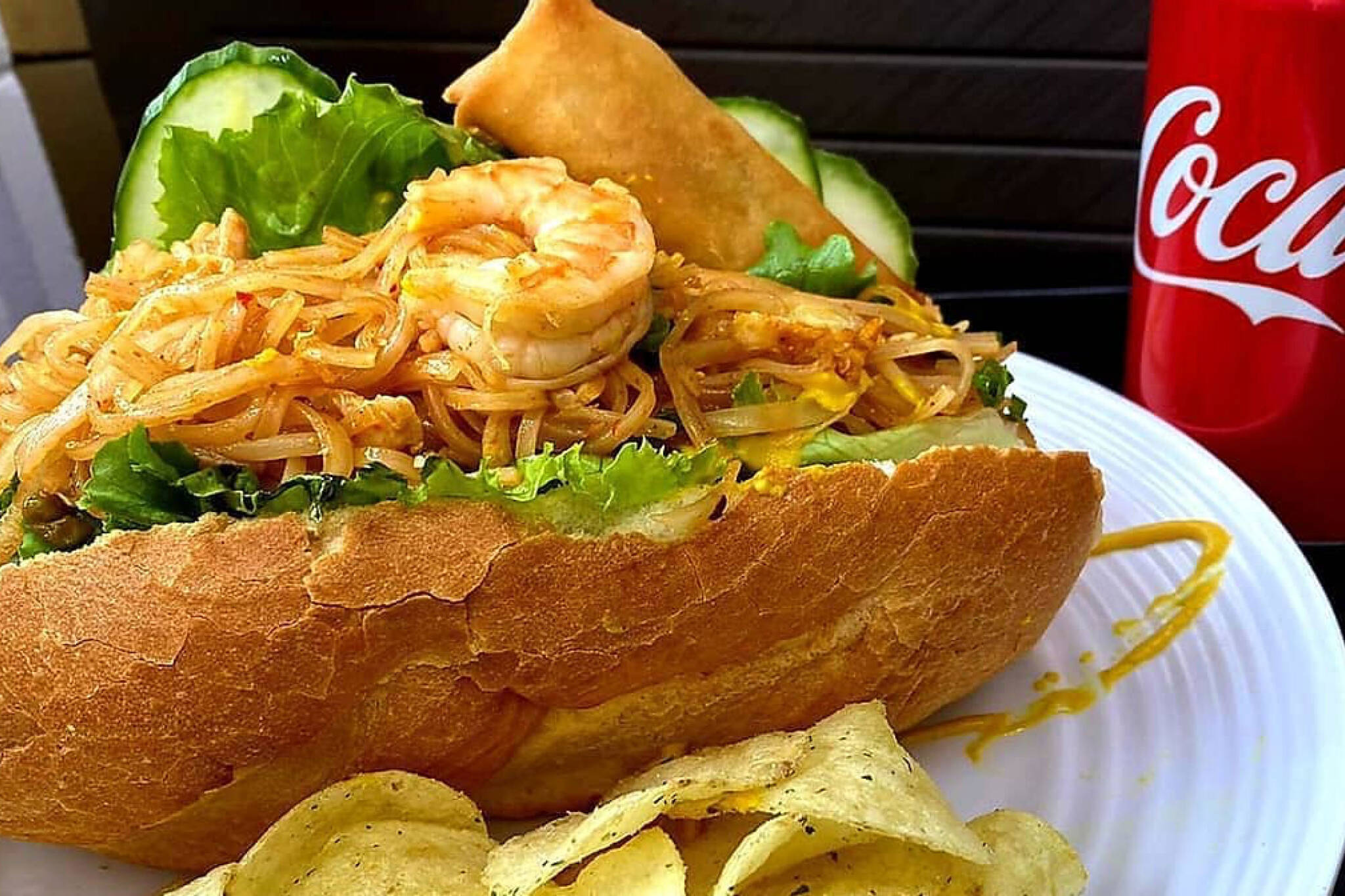 pad thai sandwich