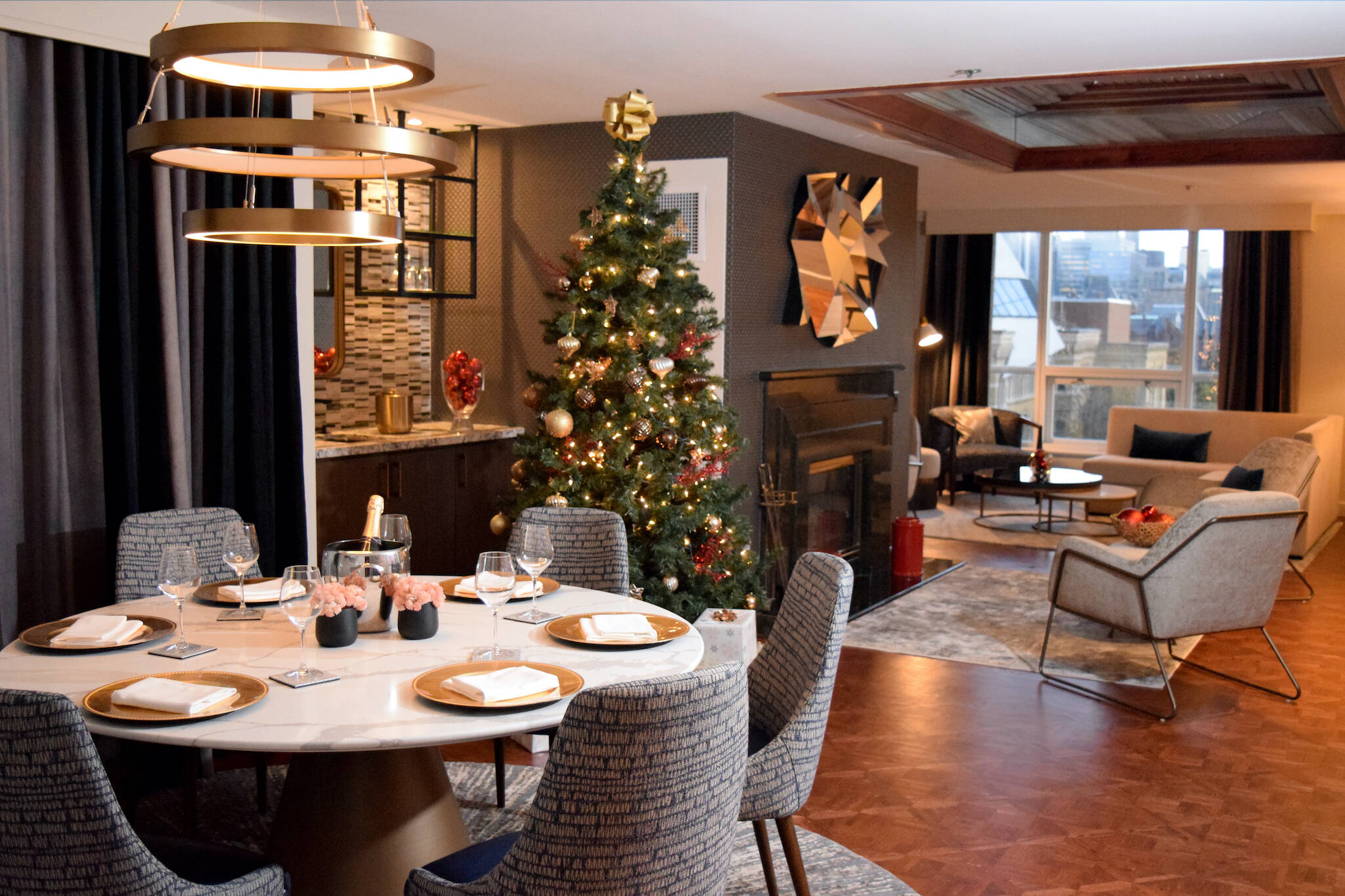 christmas dinner toronto hotel