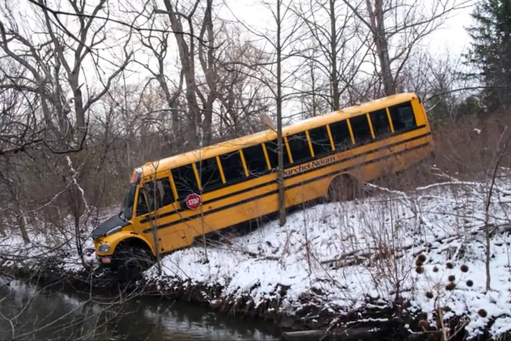 stolen buses vaughan