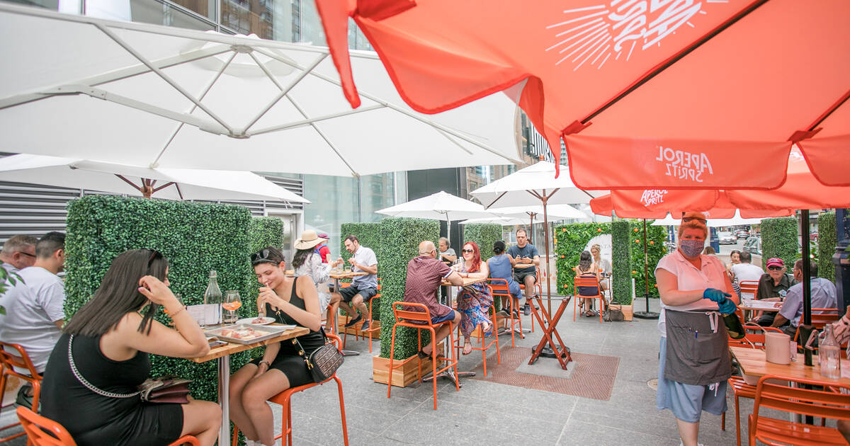 75 essential restaurants for outdoor patio dining in Toronto