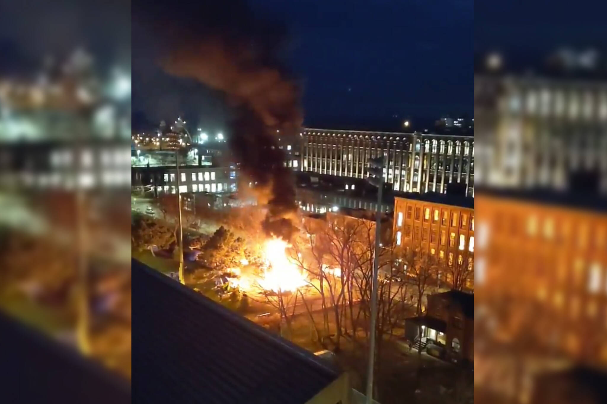 liberty village fire