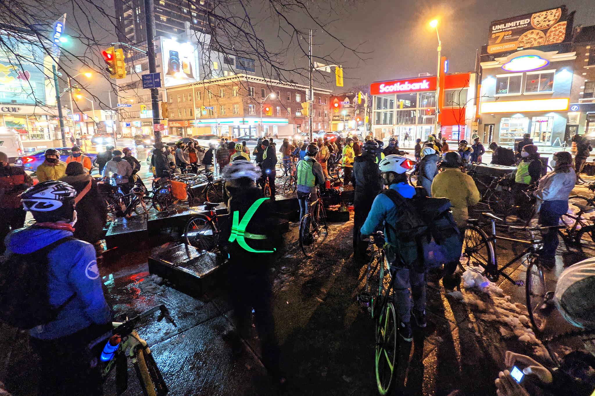 cyclist killed toronto