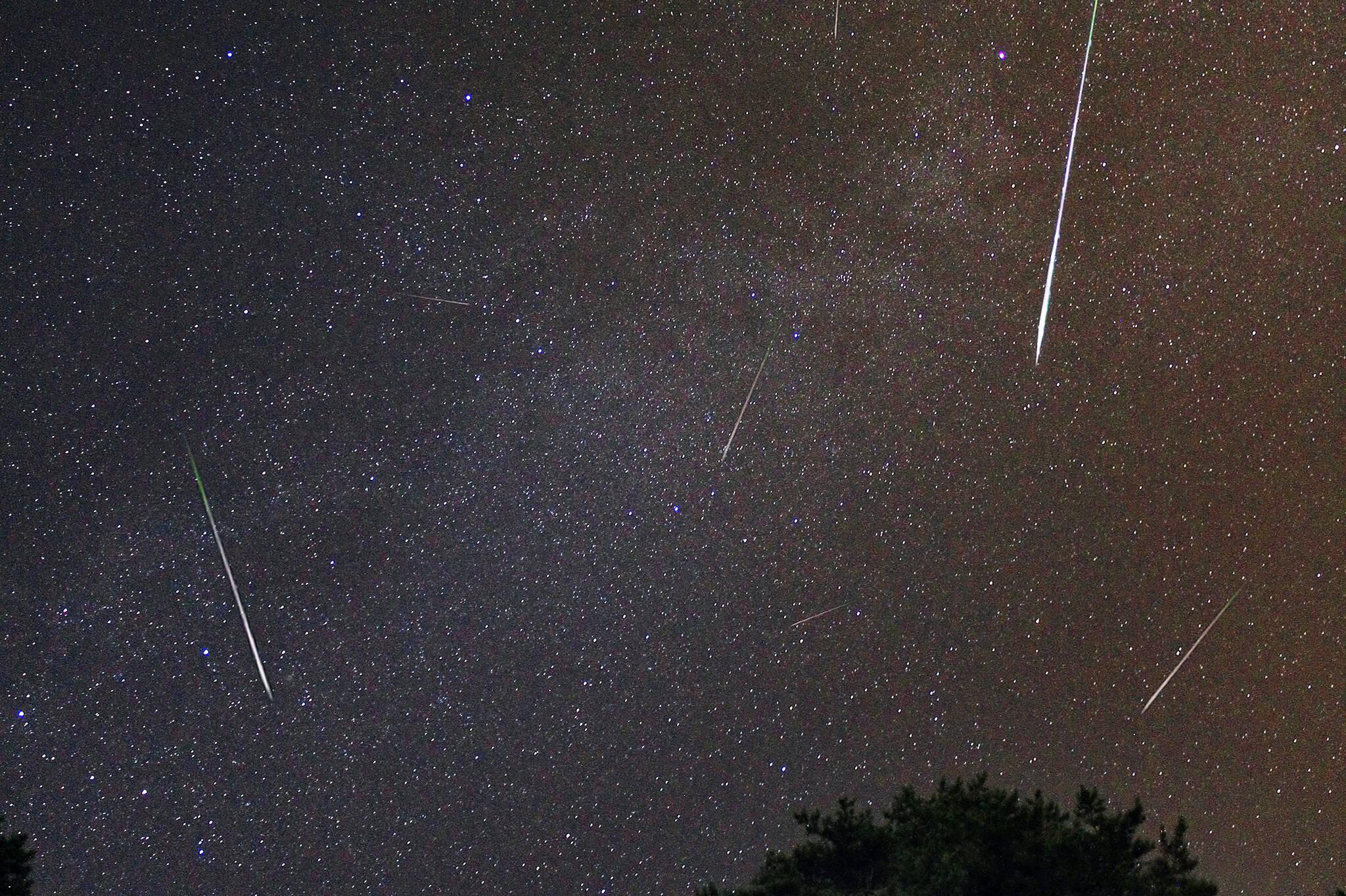 Geminids meteor shower 2020