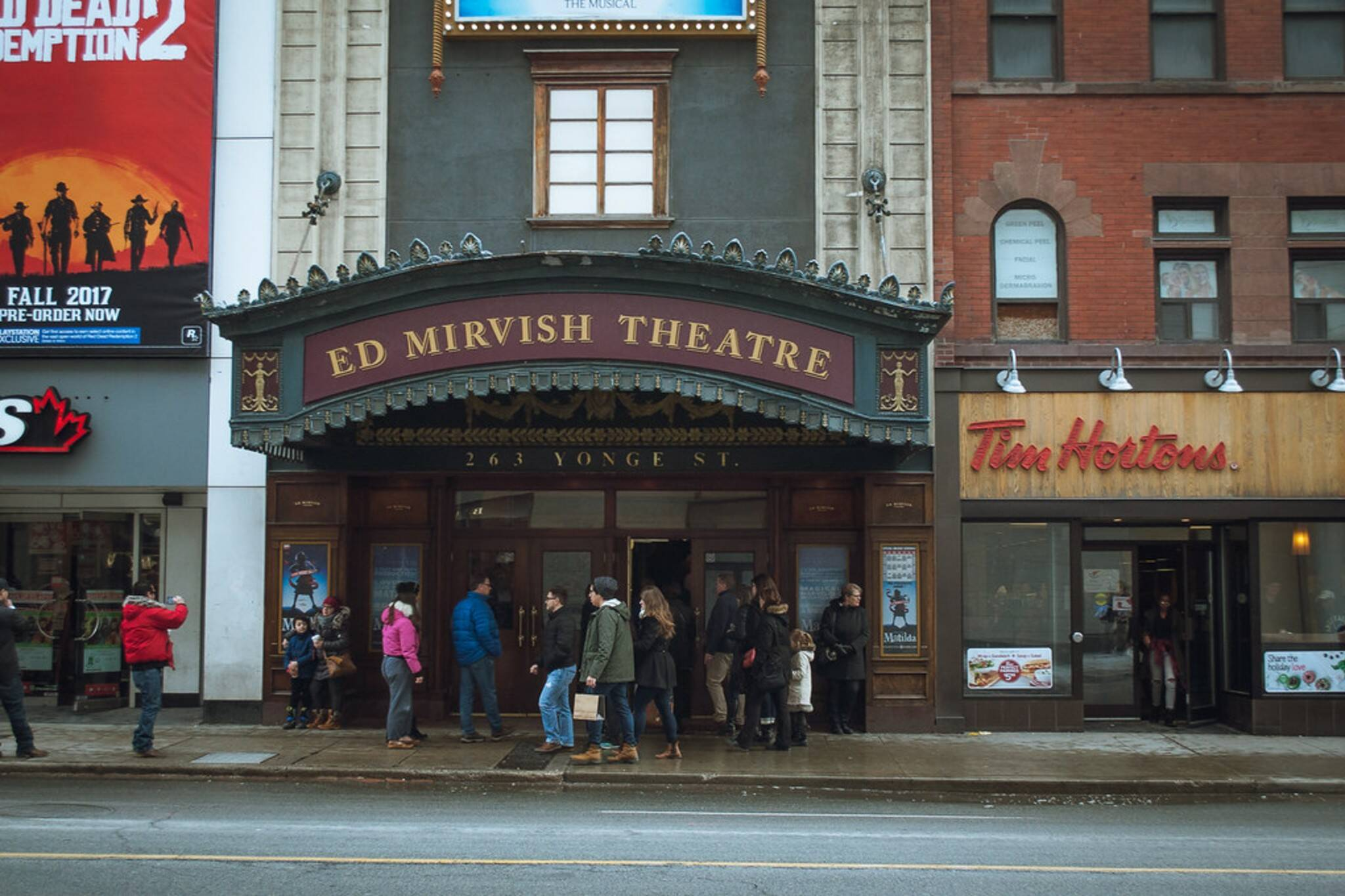 mirvish theatres reopening